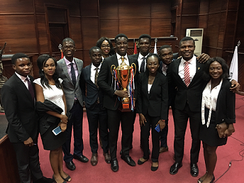 KNUST Moot Team wins Ghana National Round